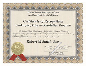 Bankruptcy Court Diploma